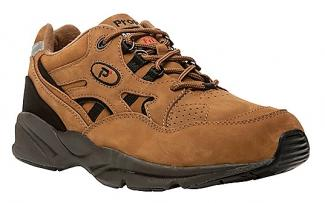 Mens Stability Walker Chocolate Nubuck