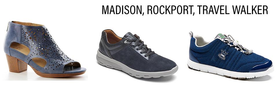 Ziera Madison, Rockport and Kroten Travel Walker