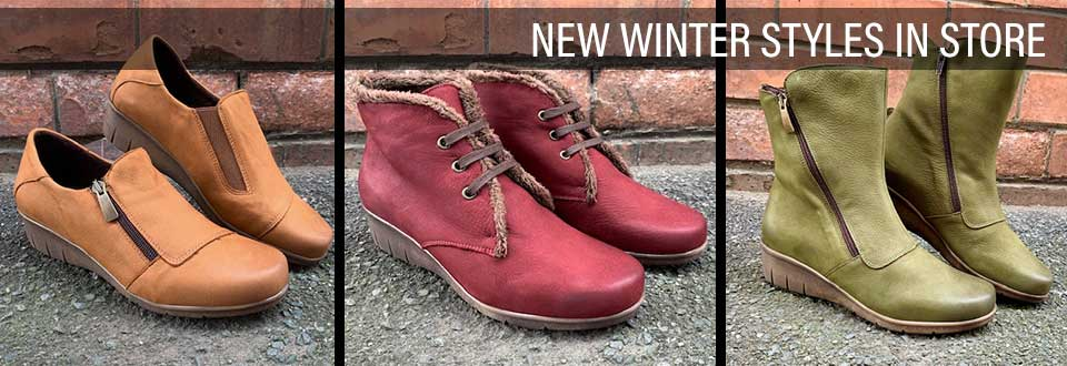 New Winter Styles now in store!